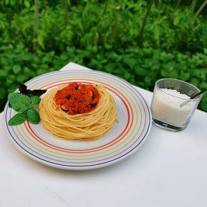 jeudi 27 août 2020 - Spaghetti bolognese